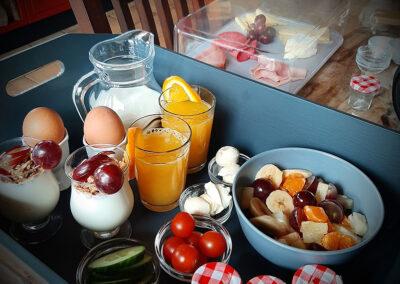 Heerlijk ontbijt bij B&B Prima Toeven Mill