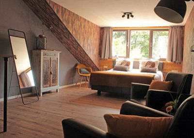 Slaapkamer op Brabantse platteland