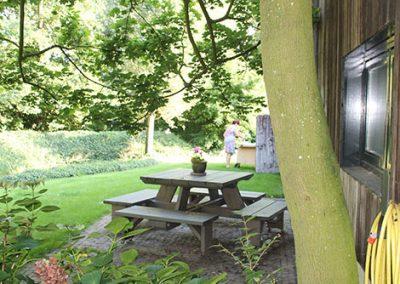 vakantiehuis met picknick